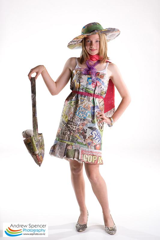 Trash Fashion show Kaikoura 2008