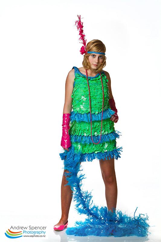 Flamboyantly Plastic - Trash Fashion show  2010