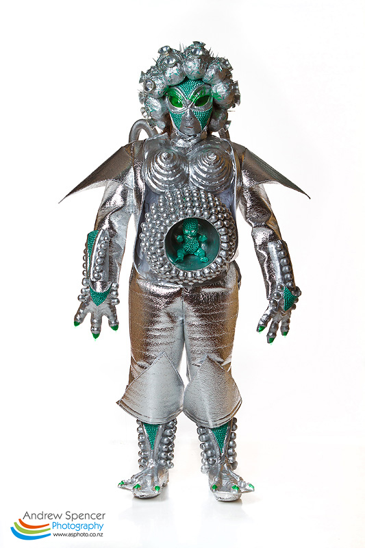 Alien Alive Trash Fashion show  2010