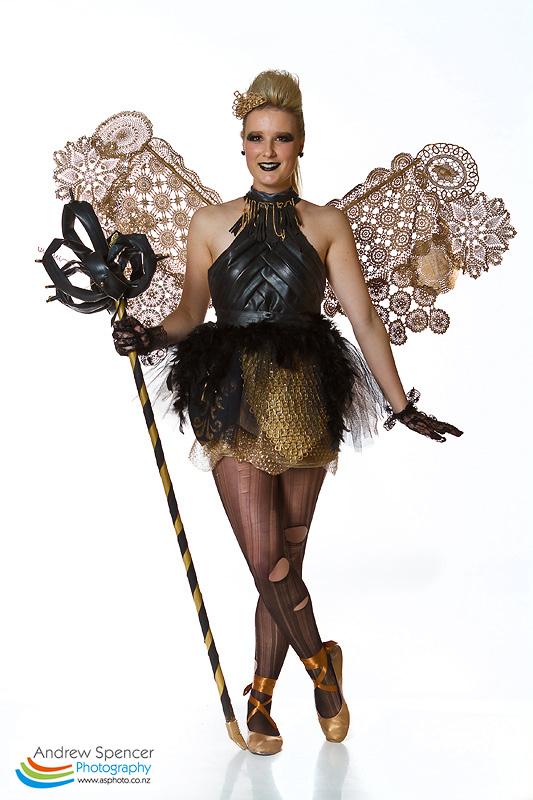 Black & Gold - Trash Fashion show  2010