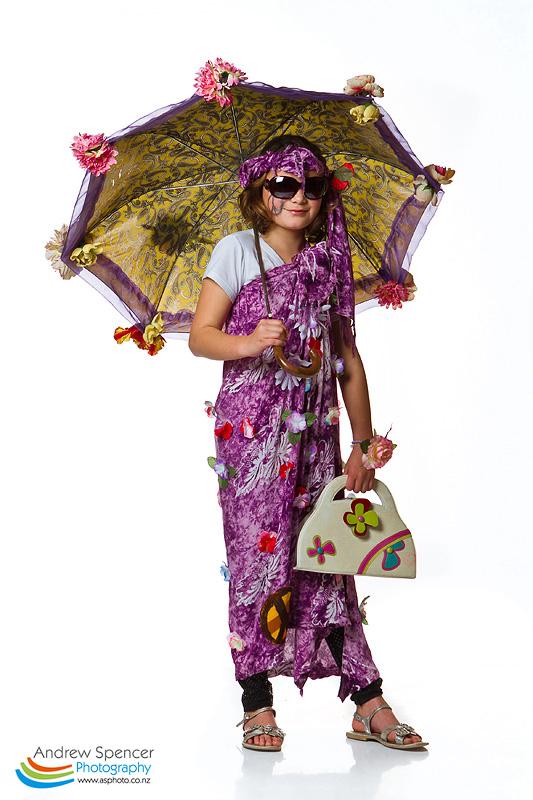 Flower Power - Trash Fashion show  2010